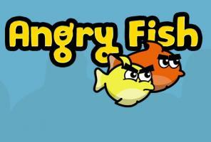 peixes irritados