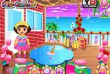 Dora Party Preparing 1