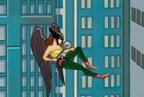 Justice league training academy hawkgirl
