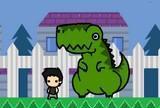 Eu e meu dinosauro