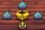 Caixa de monstro