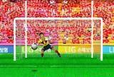 Penalty kick goal