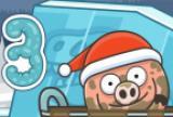 小猪在水坑里圣诞节