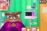 Pou Girl And The New Born Baby