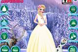 Elsa Princess Dress Code