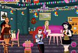 Prinses Halloween Party Room