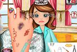 Princess Sofia Foot Infection