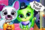 Scary Makeover Halloween Pet S