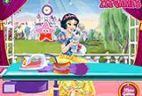 Snow White Washing Clothes
