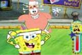 Sponge Bob bikini dolný okraj