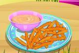 Sweet patata frijituak